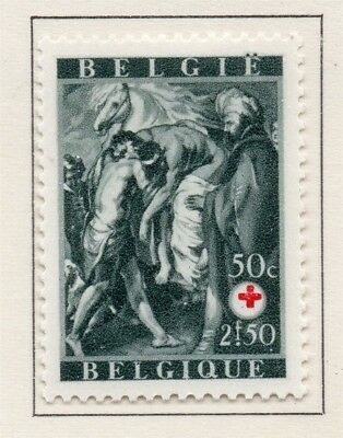 Belgium 1944 Early Issue Fine Mint Hinged 50c. 173855