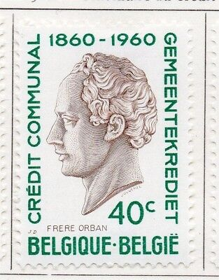 Belgium 1960 Early Issue Fine Mint Hinged 40c. 173878