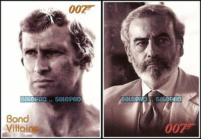 2x BOND 2008 DIE ANOTHER DAY RAOUL #BA32 FOR YOUR EYES ONLY KRIEGLER #F58 LOT