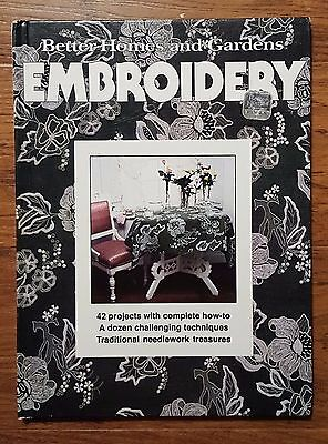 Hardcover Book  Better Homes and Gardens Embroidery