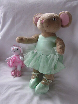 """Angelina Friend Posable ALICE 13"""" Plush Mouse Doll + 6"""" by Sababa Helen Craig"""