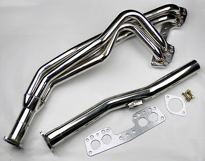 Toyota Celica Pickup Hilux 75-80 2.2L Stainless Race Manifold Header & Downpipe