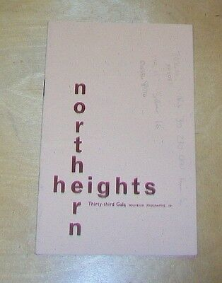 Northern Heights Model Flying Club Gala 1965 Halton Aerodrome Programme