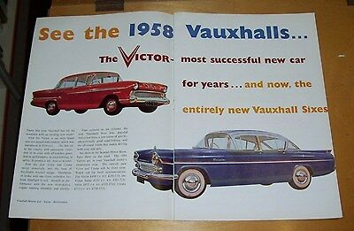 Volkswagen Beetle Vauxhall Cresta Pa Victor F Advertisements Pa Road Test 1957