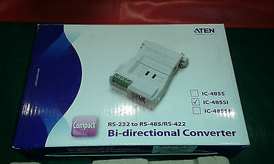 BI-DIRECCTIONAL CONVERTER RS232- RS422-485 2/4 wire (NEW-NUEVO)