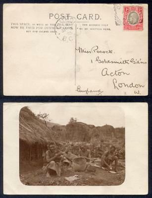 Br East Africa 1905 Native Pc To Uk
