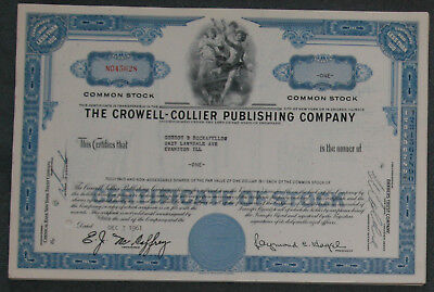 Lot 42 X The Crowell-Collier Publishing Company Anfang 1960er