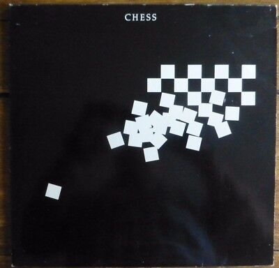 Chess - 1984 Double Vinyl Lp With Booklet. Pl70500 (2) In Gatefold Sleeve.