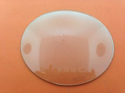 "Round Convex Clock Repair Glass 6 3/16"" or 157 mm"