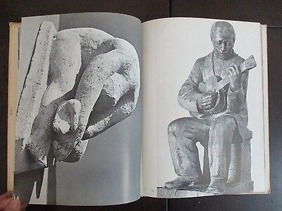 JACOB LOUTCHINSKY SCULPTURES,HARD COVER,72p,HEBREW & ENGLISH,ISRAEL,1957. cs2865