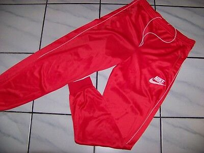 Vintage 1980s Nike Hose Trousers Tracksuit Made in Denmark size 54 (L) Retro
