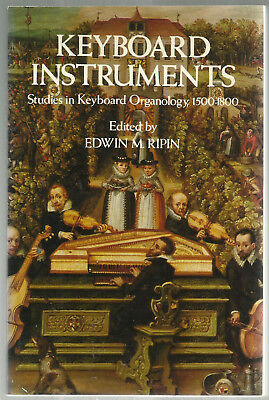 History of Keyboards, Organs, 1500-1800. Photos! Great Book