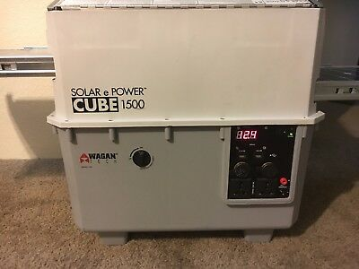 Solar e Power Cube 1500, in great condition.
