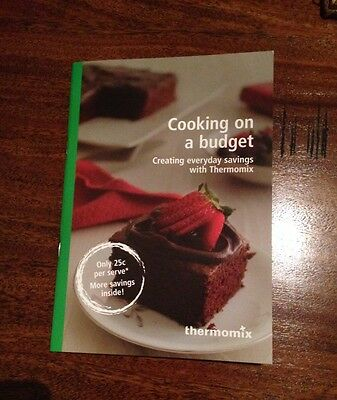 Budget Busters- cooking on a budget Thermomix cookbook