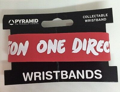 One Direction Logo Rubber Collectable Wristband