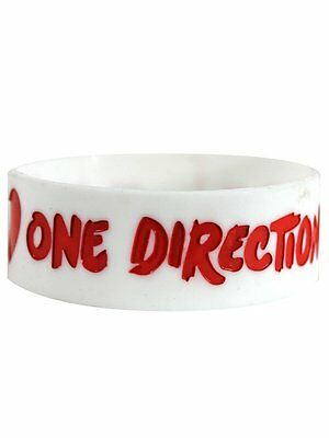 One Direction I Love One Direction Rubber Collectable Wristband