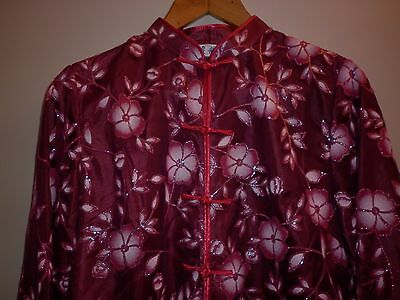 Vintage Chinese Cheongsam  Top Size Large  Excellent Condition