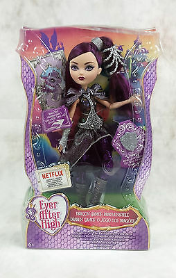 Ever After High Dragon Games Raven Queen Doll New