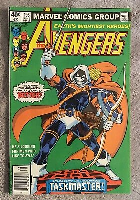 The Avengers #196 1st taskmaster appearance.  Newstand edition