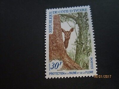 Ivory Coast 1968 336 274 Nature Protection Protection Antelope MLH