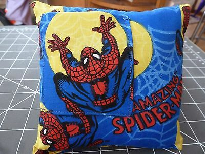 tooth fairy pillow spiderman fabric