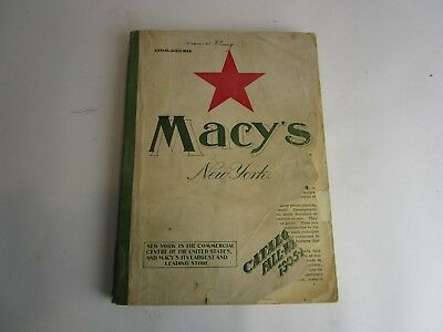 Vintage 1905 - 1906 Fall Winter Catalog Macy's New York