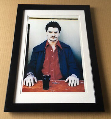 1994 Mike Patton coke Faith No More JAPAN mag photo pinup /mini poster FRAME 1r