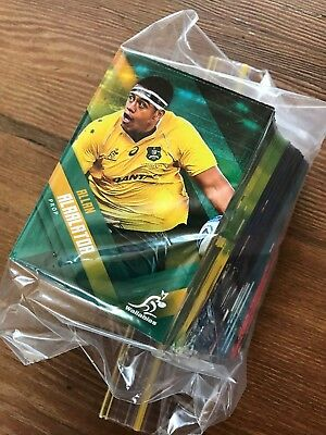 FIVE (5) ARU 2017 tapNplay rugby union CARDS - pick the ones you need!