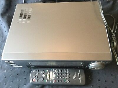 Sharp VCR VC-A556U - With Remote - Tested Works 19 Micron Heads VCRplus+