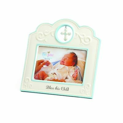 Nat and Jules Bless This Child Frame Blue NO TAX