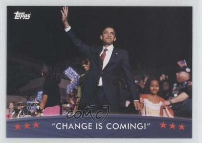 2008 Topps President Obama Collector Trading Cards 30 Change Is Coming! Card 0f7