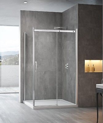 Melbourne 1200 Sliding Door Shower Screen 1200x900 Slide Shower Screen (SS20)