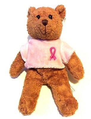 Avon Breast Cancer Awareness 2001 Teddy Bear Plush Stuffed Animal