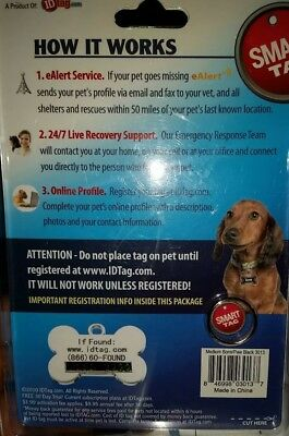 SMART TAG pet ID  (as seen on tv) medium
