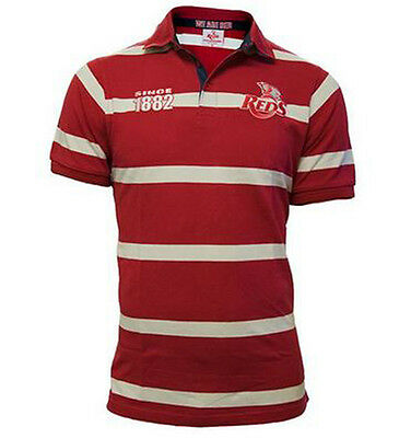 QLD Reds 2017 Supporter Polo - Sizes S - 2XL