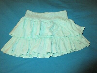 *JUSTICE Girls Teal Ruffle Skort Size 14