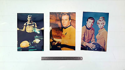 Star Trek Kirk selection of 6 photographs OXFAM CHARITY SALE