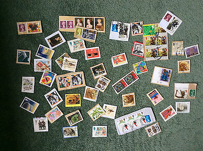 Gb Commemoratives; Lot Of 50 On Paper Used C1*