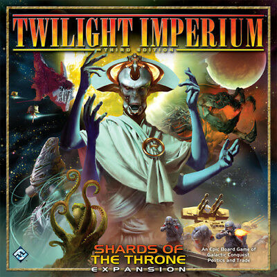 TWILIGHT IMPERIUM 3rd EDITION: SHARDS OF THE THRONE von FFG shrinkwrapped