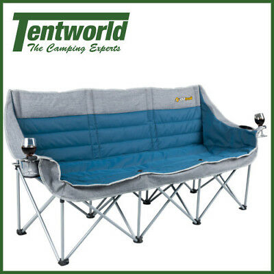 OZtrail Galaxy 3 Seater with Arms Chair