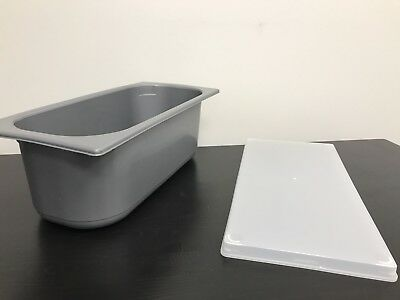 Ice Cream Tubs And Lids, 180 Units