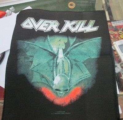 Overkill Patch Collectible Rare Vintage Backpatch Back Patch 2009