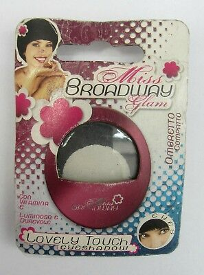 Miss broadway glam lovely touch ombretto compatto in polvere luminoso vari color