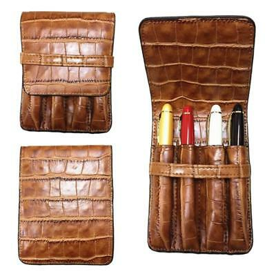 Excellent Quality Coffee New Color Fountain Pen Roller Pen Case Holder Student