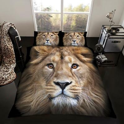 X Large Winter 2 x 2.4 Meter Queen Size Plush Mink Blanket - Lion