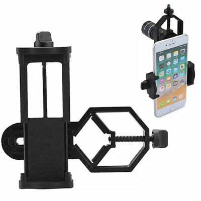 Spotting Scope Microscope Telescope Stand Adapter Mount For iPhone 6Plus Samsung