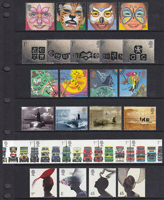 2001 Commemorative Year Set Complete ( 11 Sets )  Unmounted Mint