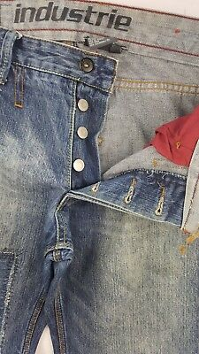 Vintage Mens Pre-Loved Industrie Jeans*size 30* Great Condition