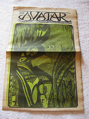 Avatar 1967 Vol 1 # 4  vintage underground newspaper