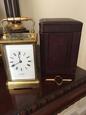 Joseph Soldano Carriage Clock Retailed by Webster of London, Circa 1875